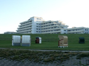 Seeblick Appartement 2 Personen in Cuxhaven Döse