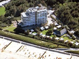 Ferienwohnungen Cuxhaven Duhnen Haus Seehütte direkt am Strand