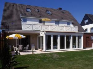 Ferienwohnungen Cuxhaven Duhnen mit Balkon