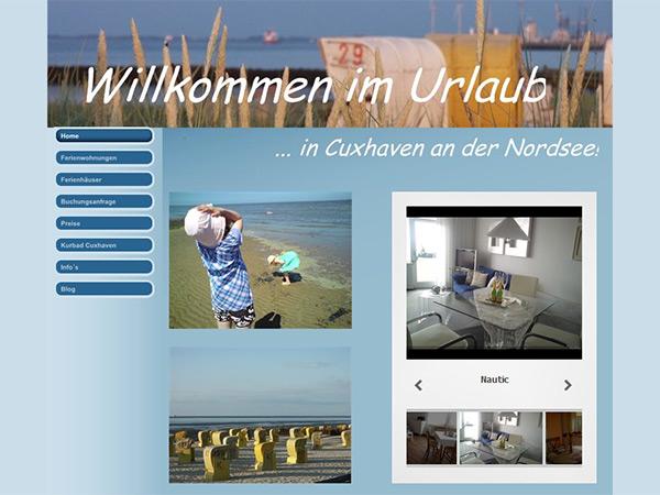 Ferienwohnung Cuxhaven - Ferienhaus Cuxhaven